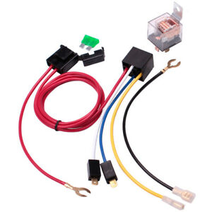 Air Horn Relay Wiring Harness Kit 12v 80 A For Car Truck Motorcycle Train