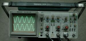 Tektronix 2235 An usm488 100mhz Two Channel Oscilloscope Two Probes Power Cord