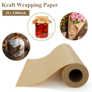 Void Fill 17 X 1181inch Brown Kraft Paper Roll For Shipping Wrapping Packing Us