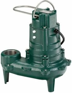 Zoeller 267 0002 Waste mate 1 2 Hp Non automatic Sewage Pump