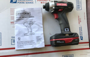 Craftsman C3 192v 14 Cordless Impact Drill Driver 57271 With Battery New