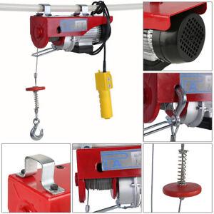 Lift Electric Hoist 100 200kg Electric Cable Hoist Power Lifting Wire Hanging
