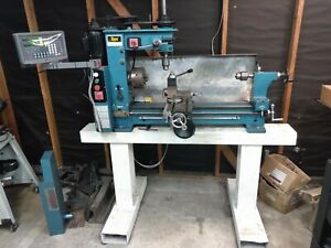Enco Lathe Mill Drill With Tooling Tool Cart