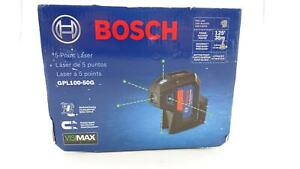 Bosch Gpl100 50g 5 point Laser Alignment With Self leveling