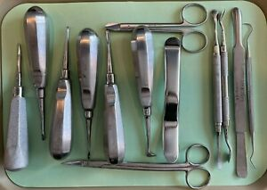 Dental Surgical Instruments Pre owned 13 Pcs