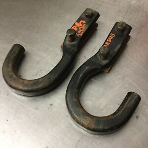1988 1998 Chevy Silverado Gmc Sierra 1500 4x4 Truck Front Tow Hook Set Withbolts