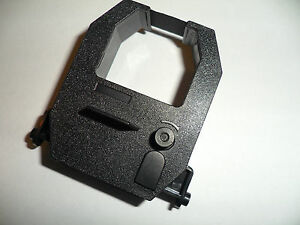 Amano Ns 5100 Electronic Time Date Numbering Stamp Ribbon Black Compatible