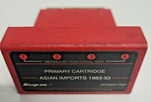 Snap On Software Tools 1983 1993 Asian Imports Primary Cartridge Mt2500 1493