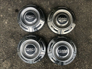 67 79 Ford F 250 Camper Special Stainless Hub Caps For 16 Or 16 5 Wheels