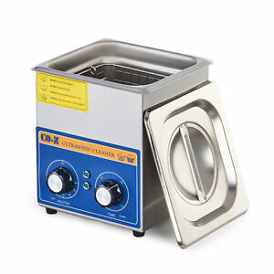 Professional Digital Ultrasonic Cleaner Machine With Timer Heated Cleaning 2l