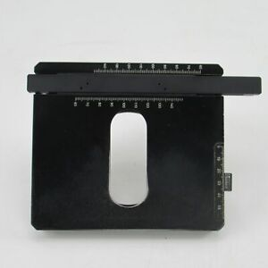 Zeiss Xy Mechanical Stage For Axioskop 20 50 Microscope 453522