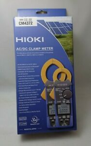 Cm4372 Hioki Electric Ac dc Clamp Meter With Ac dc 600a Bluetooth Gennect Cross