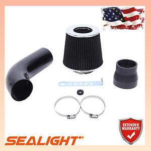 New Listingperformanc 3 Universal Cold Air Intake Induction Hose Pipe Car Kit Filter