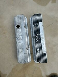 Mickey Thompson Finned Aluminum Valve Covers Ford Fe 352 360 390 427 428 103r 56