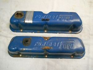 Ford Oem Power By Ford Valve Covers 289 302 351w