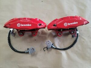 2020 2021 Mustang Shelby Gt500 Rear Calipers Brakes Red