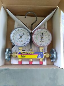 Nos Yellow Jacket Manifold Gauge 41212 Never Used Great Buy Free Shipping Too