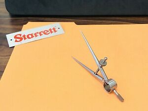 Starrett No 277 3 3 Long Dividers With Round Legs 3 0 Capacity Usa Made