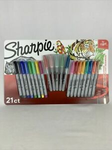Sharpie Permanent Markers 13 Fine 8 Ultra fine Point Assorted