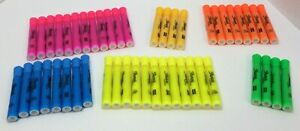 Sharpie Tank Highlighters Chisel Tip Assorted Colors 48 Count