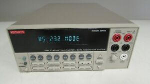 Keithley 2701 Multimeter Data Acquisition System W 7700 Module