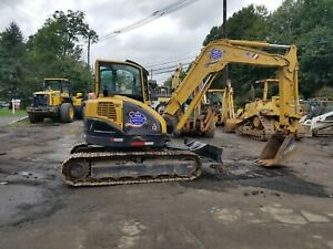 Excavator Yanmar Vio 75 a One Owner 2005 Has Only 1160 Hours