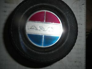 1974 77 Amx Center Section Badge From A 1970 Amx Horn Plate Rare