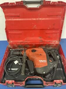 Hilti Te 70 atc avr Rotary chipping Hammer Drill In Hard Case