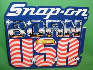 Snap On Born In The U S A Decal Sticker Vintage New