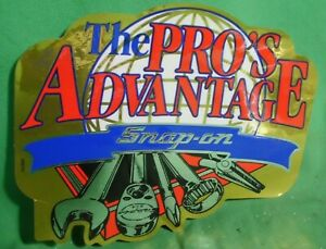 Snap On The Pro S Advantage Decal Sticker Vintage New