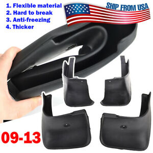 4x For Toyota Corolla 2009 2013 Mud Flaps Mudguards Splash Guards Front Rear