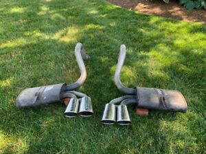 2003 Corvette Mufflers And Tailpipes