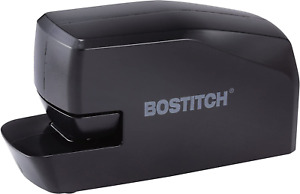 Portable Electric Stapler 20 Sheets Ac Or Battery Powered Black Mds20 Blk