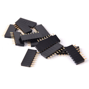 10pcs 8 Pin Female Tall Stackable Header Connector Socket For Arduino Shieh4