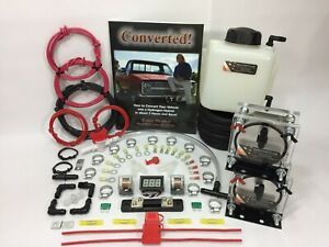 Dual 9 Plate Hho Dry Cell Kit W Electronics Volo Chip Hydrocell Electrolysis