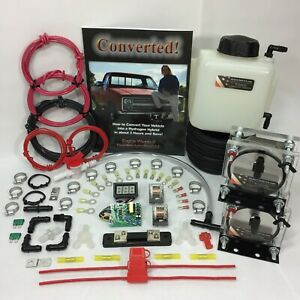 Dual 9 Plate Hho Dry Cell Kit W Electronics Hydrocell Electrolysis