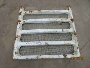 International Farmall 460 Gas Utility Front Grill Antique Tractor