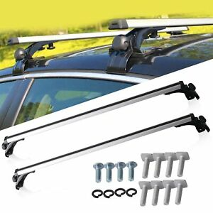 49 Universal Top Roof Rack Cross Bars Luggage For 4 Door Car Suv Truck Jeep