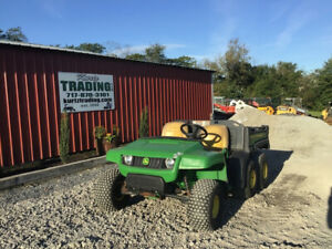 2010 John Deere Th 6x4 Gator Utility Vehicle W Dump Bed Only 1300 Hours