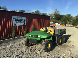 2009 John Deere Th 6x4 Gator Utility Vehicle W Dump Bed Only 2100 Hours