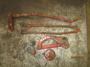 Ih Farmall 460 Utility Traction Control Draft Control Arms Parts Tractor