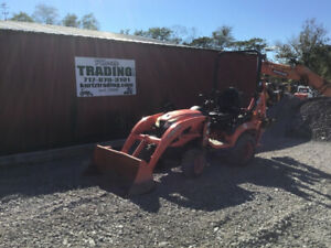 2018 Kubota Bx23s 4x4 Hydro 23hp Compact Tractor Loader Backhoe W 1200hrs