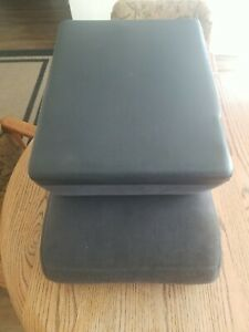 1994 1995 1996 1997 1998 Dodge Ram Front Center Console Jump Seat Cloth Gray