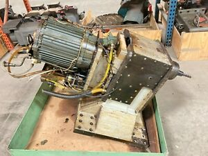 Haas Vf4b Cat40 Spindle Assembly With Spindle Motor