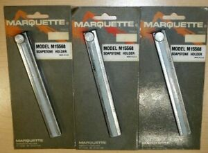 Lot Of 3 Marquette M15568 Soapstone Holder Welding Marker Usa