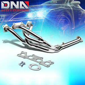 Stainless Steel 4 2 1 Header For 89 93 Miata Mx5 1 6l L4 B6ze Exhaust Manifold