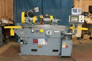12 Swg 28 Cc Parker majestic 2ea New 1998 Programmable Infeed Od Grinder 6
