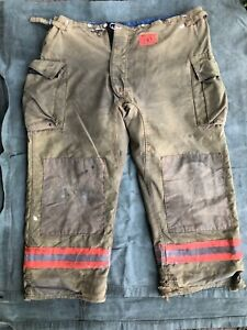 2003 Morning Pride Fire Fighter Turnout Pants 50 X 31 Bunker Gear Training Liner