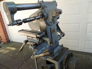 Burke 3 126a Milling Machine Excellent Working Condition