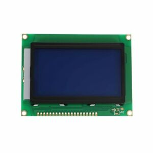 St7920 128x64 12864 Lcd Display Blue Backlight Parallel Serial Module For M8c7